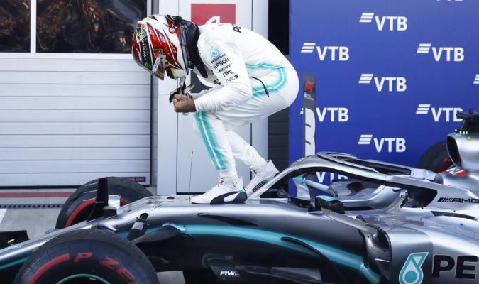 Hamilton se quedó con el GP de Rusia / Foto: AP