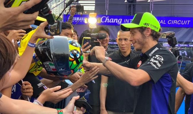 Rossi habló sobre la temporada de Márquez / Foto: Cortesía (@YamahaMotoGP)
