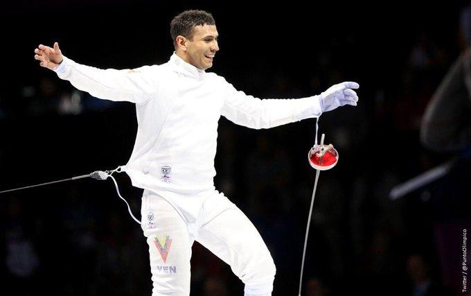 Limardo ganó oro en Londres de 2012 / Foto: Cortesía