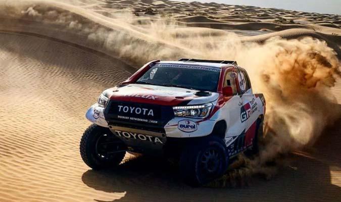 El español se prepara para competir en el Rally Dakar l Foto: Cortesía