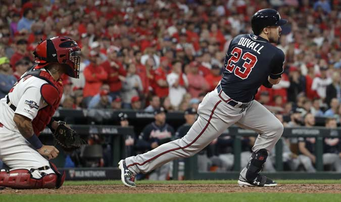 El bateador conectó el imparable ganador / Foto: AP