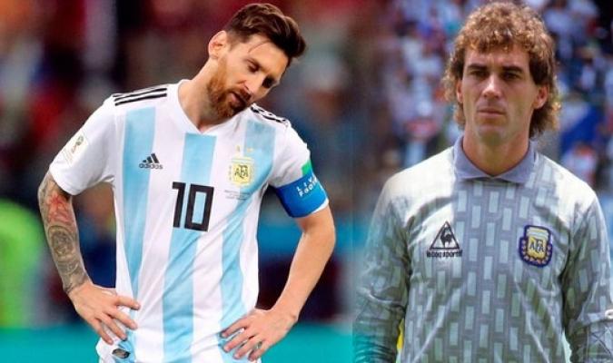 Pumpido valoró el desempeño de Messi en la selección / Foto: Cortesía