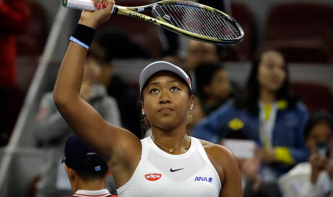 La tenista decidió elegir la nacionalidad japonesa/ Foto AP