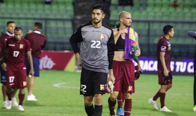 El golero jugó ante Trinidad y Tobago || Foto: Simón Bardinet