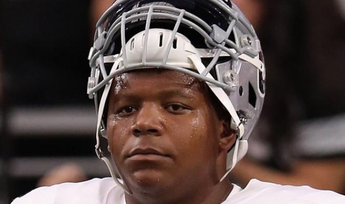 Brown juega como tackle en los Raiders de la NFL / Foto: Cortesía