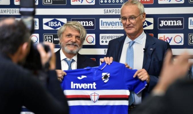 Ranieri quiere cambiar la cara de la 'Samp' / Foto: Cortesía