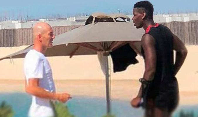 Zidane quería llevar a Pogba al Madrid en verano / Foto: Daily Mirror