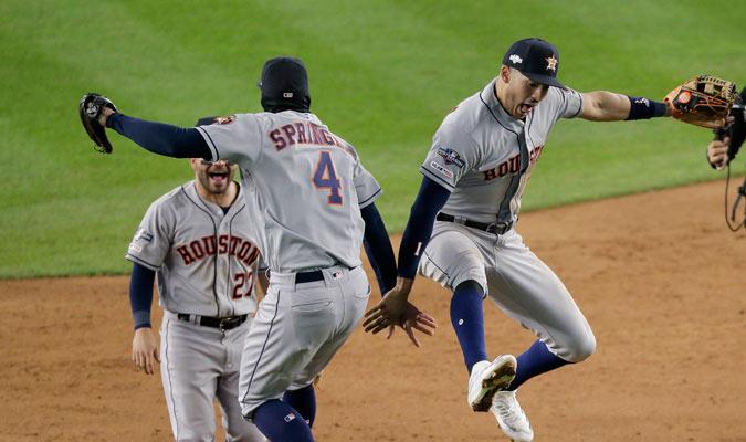 Springer y Correa fueron los héroes a la ofensiva/ Foto AP