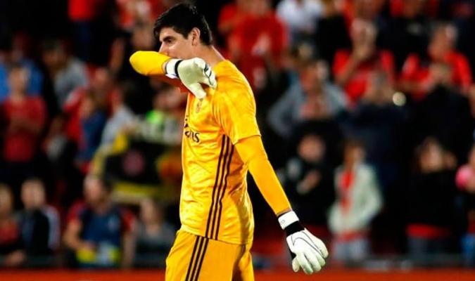 Courtois no permitió goles ante Galatasaray / Foto: Cortesía