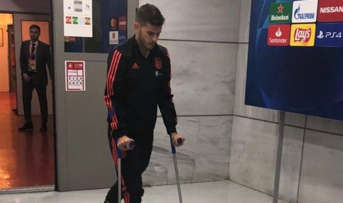 Hernández fue operado del tobillo / Foto: Cortesía