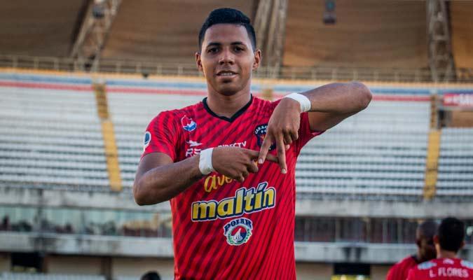 Celis es el referente ofensivo del Caracas    Foto: Caracas FC