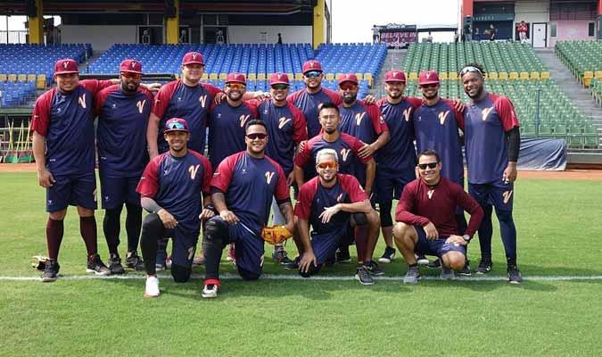 La selección buscara poner el nombre de Venezuela en lo mas alto/ Foto: Fevebeisbol