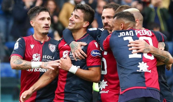 Cagliari arrolló a la Fiore con una goleada / Foto: AP
