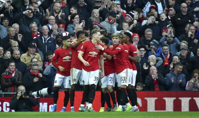 El United hizo respetar su casa / Foto: AP