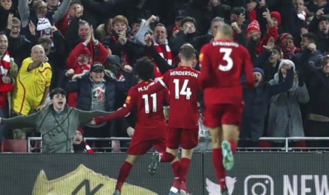 Liverpool  goleó al City en Anfield / Foto: AP