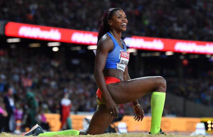Ibargüen es la actual campeona olímpica de salto triple / Foto: Cortesía