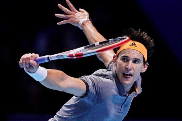 Thiem venció a Federer en dos sets / Foto: Cortesía