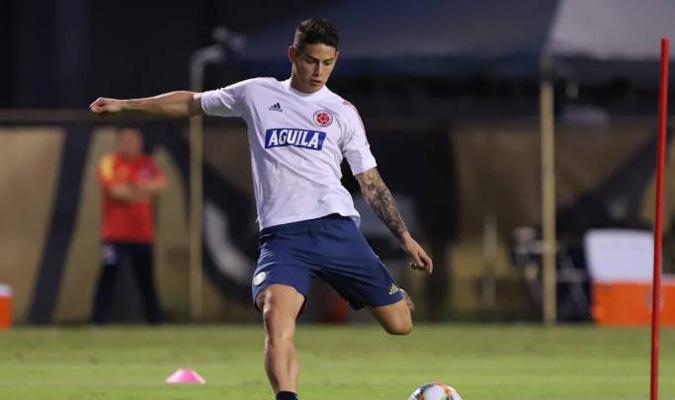 James no juego con Colombia desde la Copa América/ Foto as.com