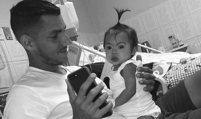 La pequeña compartió momentos importantes con su padre / Foto: Cortesía