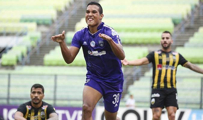 Los violetas anotaron ambos goles en el primer tiempo || Foto: Metropolitanos FC