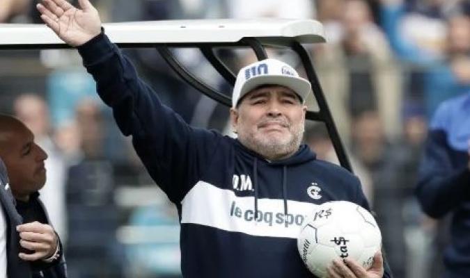 Maradona renunció a su cargo en el 'Lobo' / Foto: Cortesía