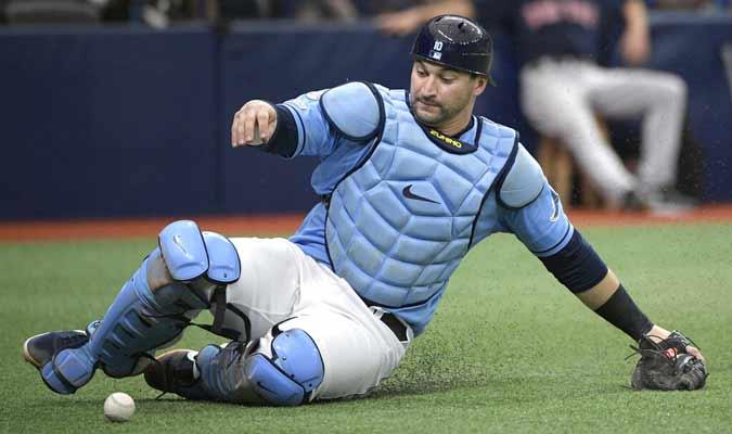 Zunino llegó a los Rays procedente de Seattle/ Foto: AP