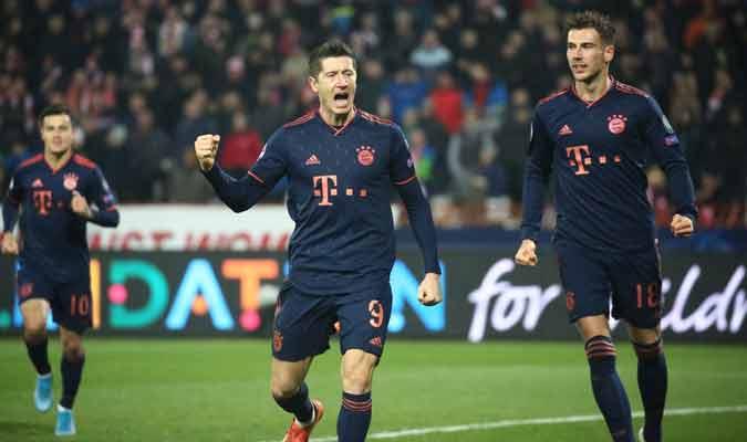 El Bayern dominó a placer/ Foto: Cortesía