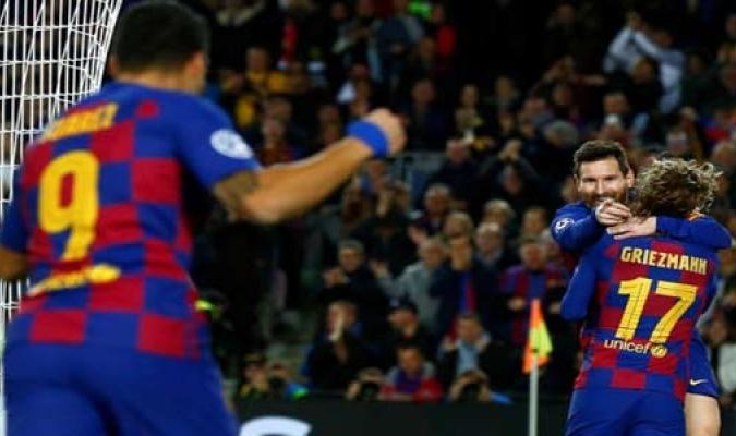 El Barça confirmó su acceso a la siguiente fase / Foto: EFE