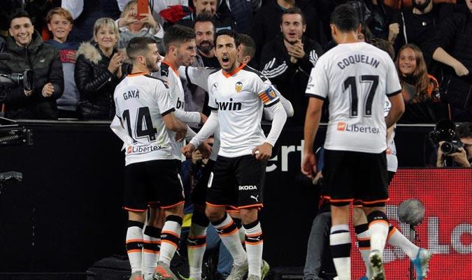 Torres celebró su gol / Foto: EFE