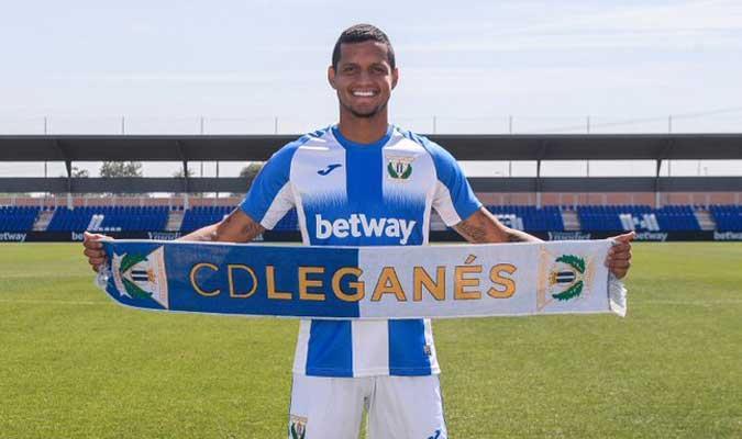 Rosales llegó esta temporada a Leganés / Foto: Cortesía