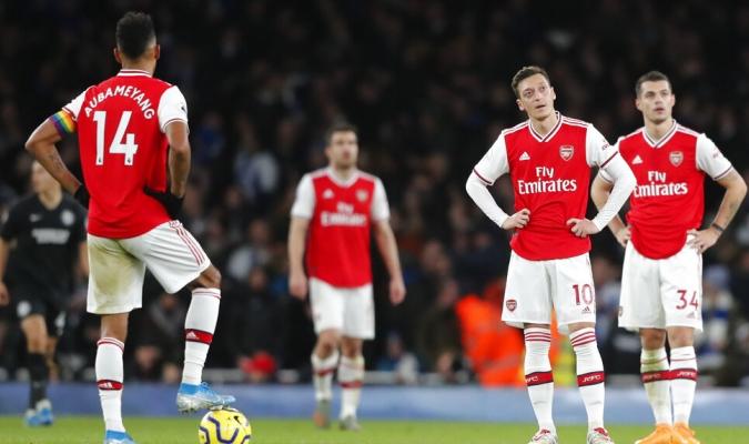 Arsenal  cayó ante el Brighton / Foto: AP