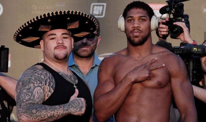 Ruiz subió más de 20 libras que en la primera pelea / Foto: Cortesía