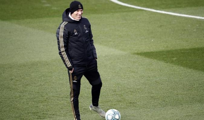 Zidane es el cuarto entrenador con más partidos ligueros en el Madrid / Foto: Cortesía