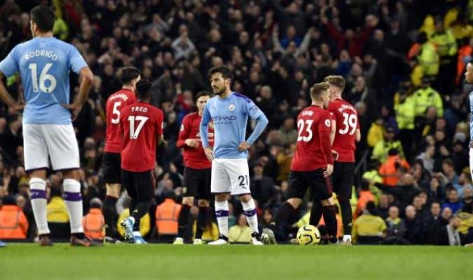 El United dominó al City en Etihad / Foto: AP