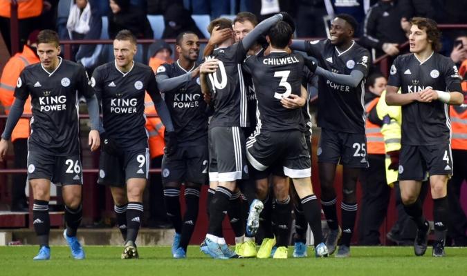 Leicester suma siete victoria en fila / Foto: AP
