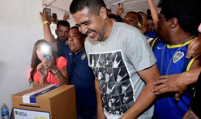 Foto: Riquelme en urnas de votación | Cortesía