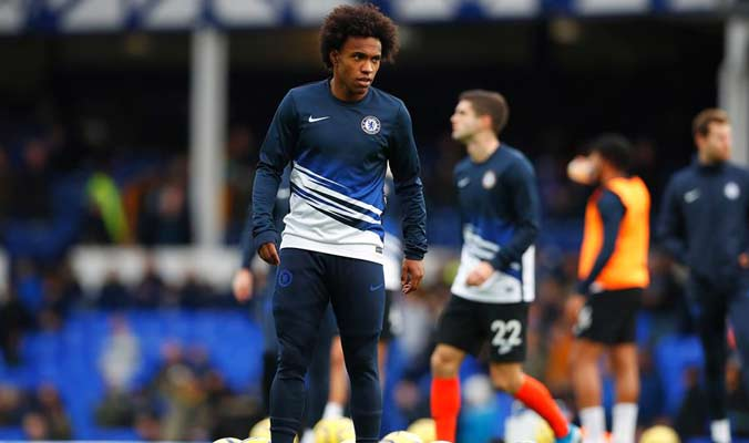 Willian es una de las figuras 'blues' / Foto: EFE
