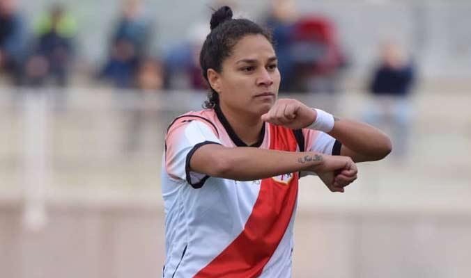 La venezolana marcó tres goles en el último partido / Foto: Cortesía