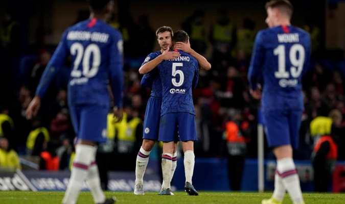 Chelsea se mete a la próxima fase de la Champions / Foto: EFE