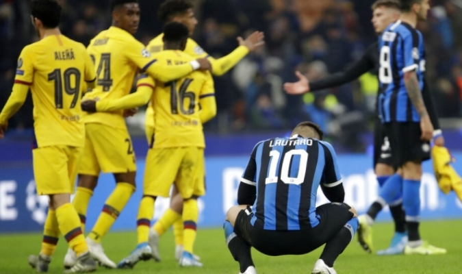 Fati sentenció en partido en Italia / Foto: AP