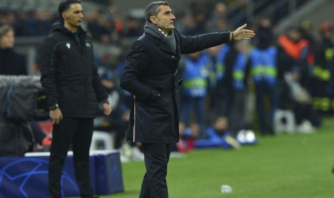 Valverde evaluó el choque ante el conjunto italiano / Foto: Cortesía