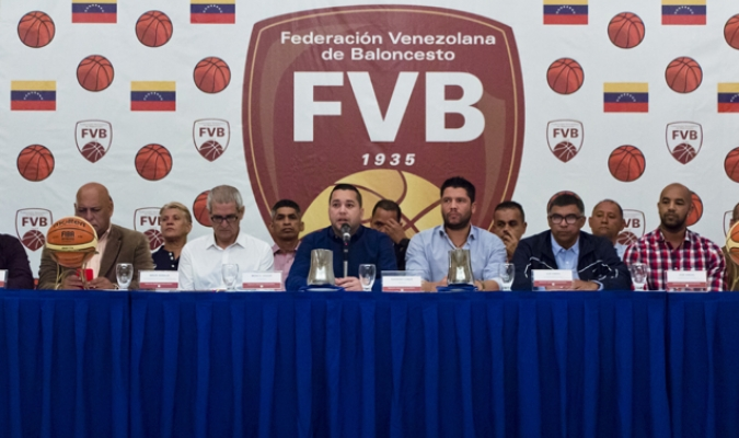 Coello fue presentado como presidente de la FVB / Foto: Cortesía Rubmyr Robaina