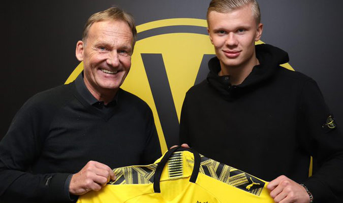 El noruego llega al Dortmund hasta el 2024/ Foto @BVB