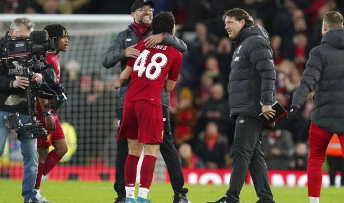 Liverpool avanzó a la siguiente ronda de la copa / Foto: AP