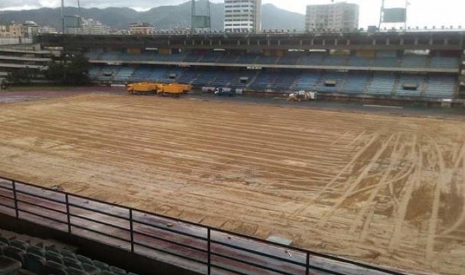 En el mes de diciembre comenzaron los trabajos de recuperación del estadio / Foto: Cortesía