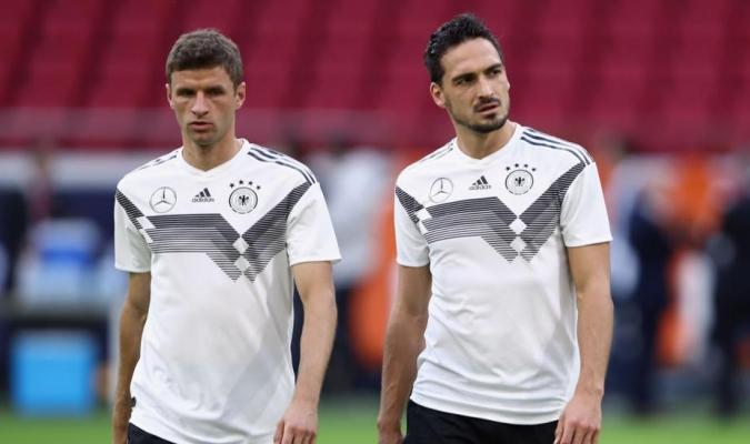 Mats Hummels y Thomas Muller en la lista previa de JJOO / Foto Cortesía