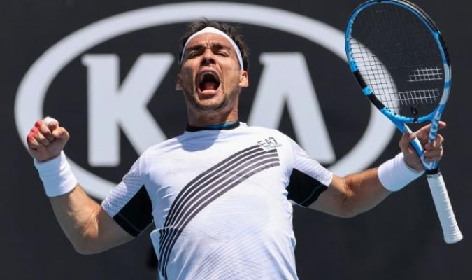 Fognini avanza en Open de Australia/ Foto Cortesía