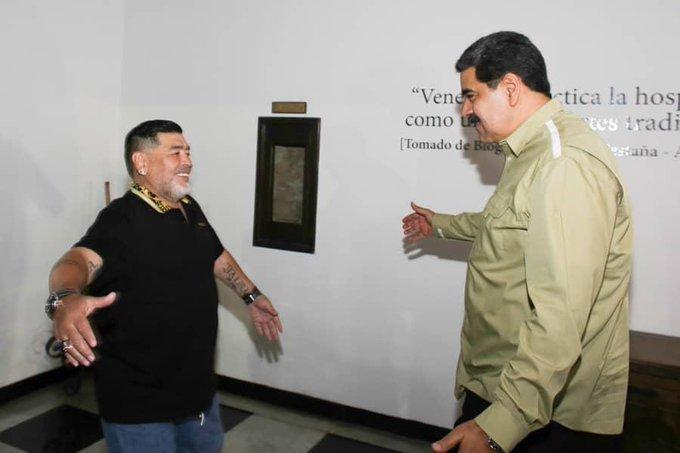 Maradona quedó descartado para ser técnico de la Vinotinto / Foto: Cortesía