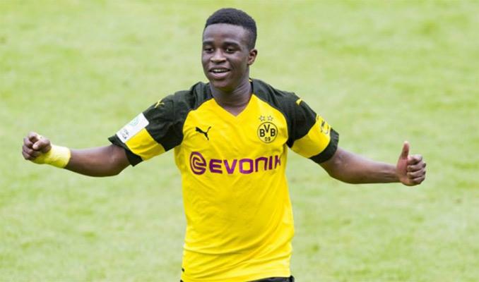 Youssoufa Moukoko milita en el Sub-19 del Dortmund / Foto: Cortesía