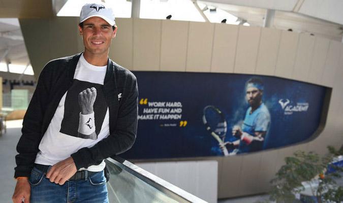 Nadal inaugurará la academia con un duelo ante Ferrer/ Foto @rnadalacademy